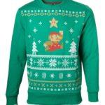 ちょっぴり気が早い!?マリオ&ゼルダの伝説の「クリスマスセーター」風デザインスウェットが海外にて発売に
