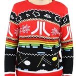 アステロイドにブレイクアウト、ミサイルコマンド!「ATARI」デザインのクリスマスセーターがカッコよすぎる