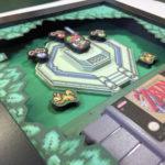ドット絵ゲームキャラが飛び出す!フレームの中に閉じ込められた、レトロゲームの3Dシャドーボックスが素敵すぎる