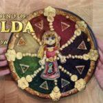 カラフルできれい!海外ファンによる「ゼルダの伝説」レインボーアップルパイ
