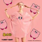 まんまるピンクなミニワンピ超かわいい!「星のカービィ×YUMMY MART」コラボの下着やグッズが発売に